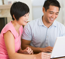 homebuyers search for house online