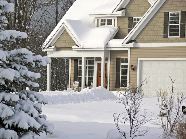 Winter Home Buying Real Estate Title